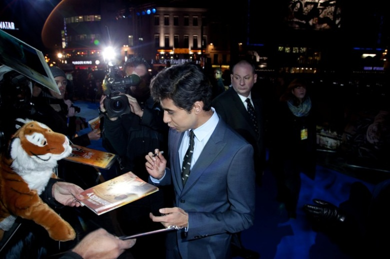 Suraj Sharma_Life Of Pi Premiere_ London _ Red Carpet