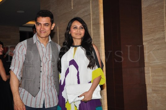 Talaash Success Party - Aamir Khan, Rani Mukherji