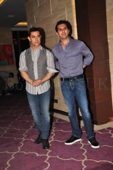 Talaash Success Party - Ritesh Sidhwani, Aamir Khan