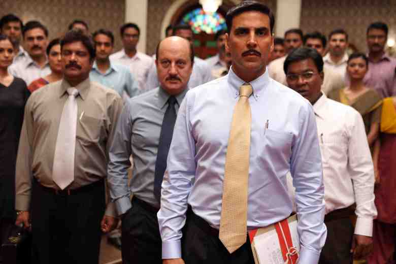 Akshay Kumar and Anupam Kher in Special 26 - UK Release