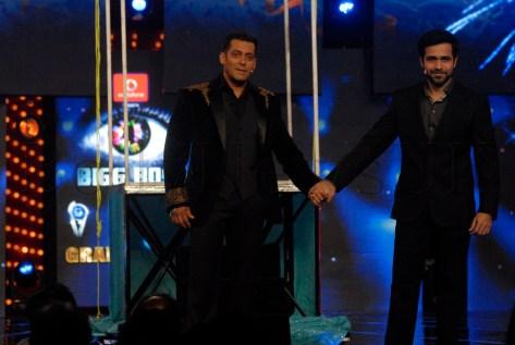Emraan Hashmi and Salman Khan on Big Boss