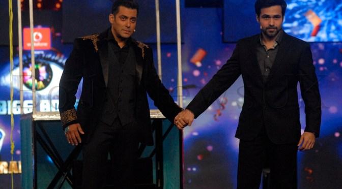 Spotted: Emraan Hashmi and Salman Khan on Big Boss