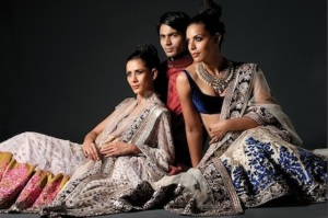 Manish Malhotra & top models showcasing some of his stunning designs