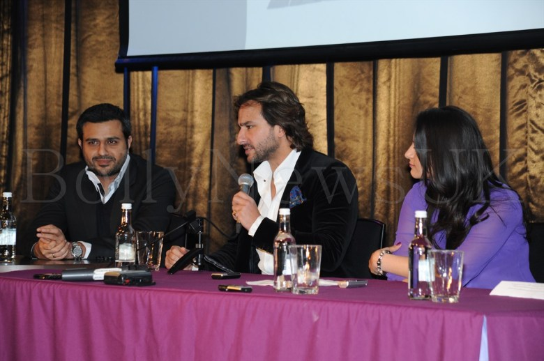 Race 2 - London Press Conference- Saif Ali Khan