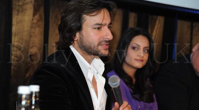 """I look forward to shooting my next film in London"" – Saif Ali Khan"