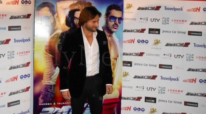 Photos: Saif Ali Khan at the photo call for 'Race 2' in London
