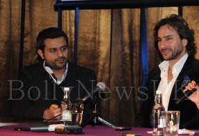 Saif Ali Khan - London - Race 2 - Press Conference