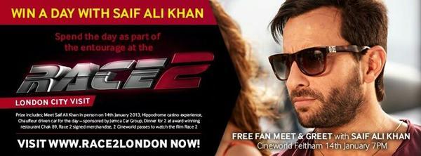 Saif Ali Khan - Race 2 Premiere