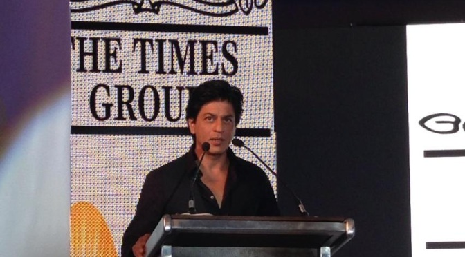 Watch: SRK speaks about his latest 'controversy'