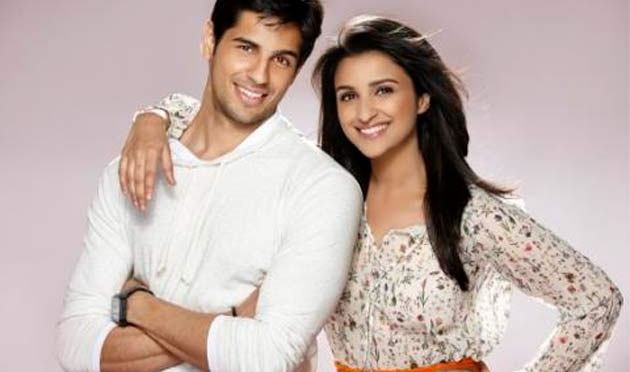 Sidharth and Parineeti in 'Hasee Toh Phasee'