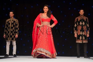 Bollywood star Parineeti Chopra at Manish Malhotra Fashion Fundraiser in London for The Angeli Foundation