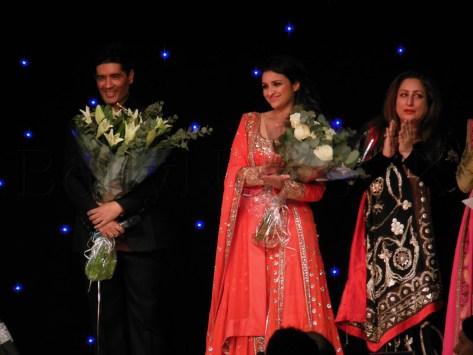 Manish and Parineeti in London