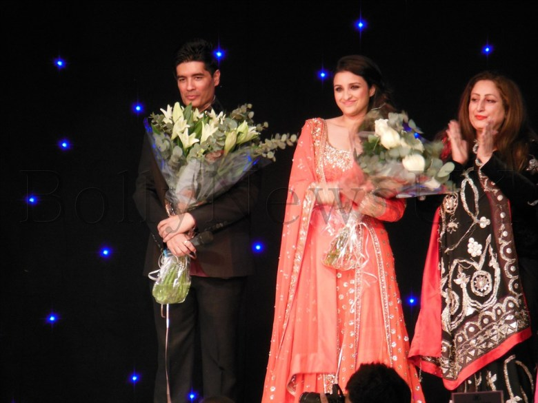 Manish Malhotra and Parineeti in London