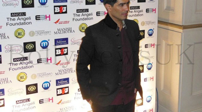 Spotted: Manish Malhotra at The Angeli Foundation charity show