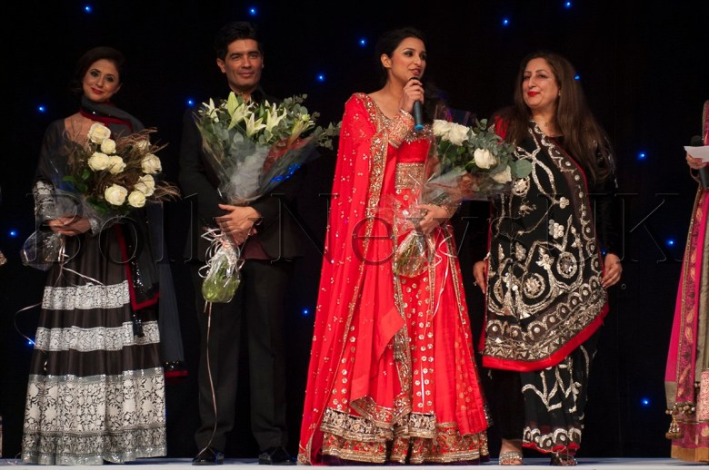 Parineeti Chopra speaks at the Manish Malhotra Fashion Fundraiser for the Angeli Foundation in London