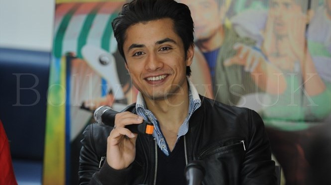 Spotted: Ali Zafar at 'Chashme Baddoor' London Press Conference
