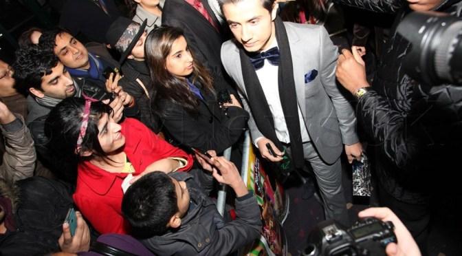Ali Zafar wows fans at Cineworld Feltham for 'Chashme Baddoor'