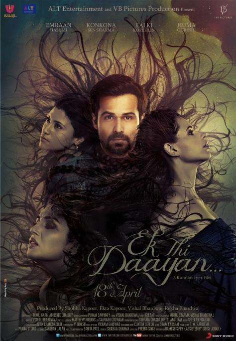 Ek Thi Daayan - Poster