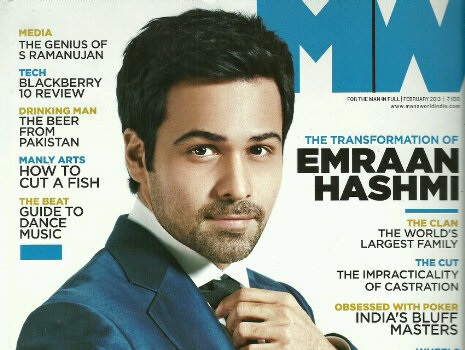 Hitman Hashmi spills the beans as he features on the cover of Man's World