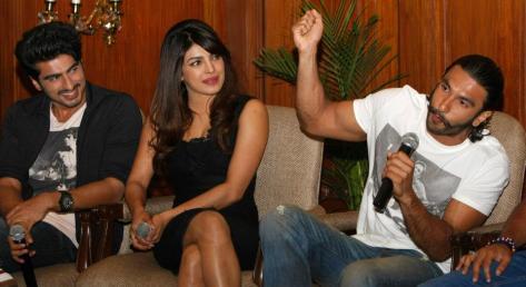 Gunday Press Conference in Kolkata (2)