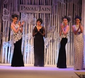 Payal jain with models