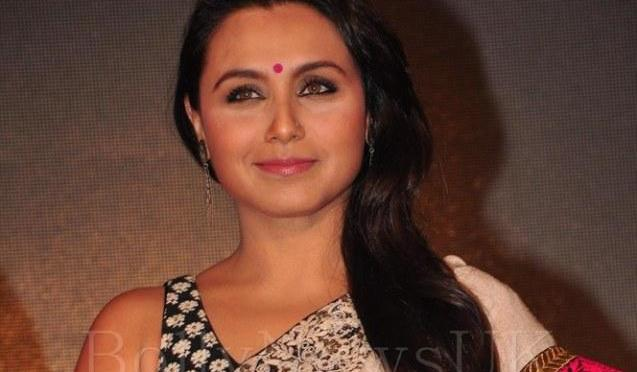 Yash Raj Films sign Rani Mukherji for 'Mardaani'