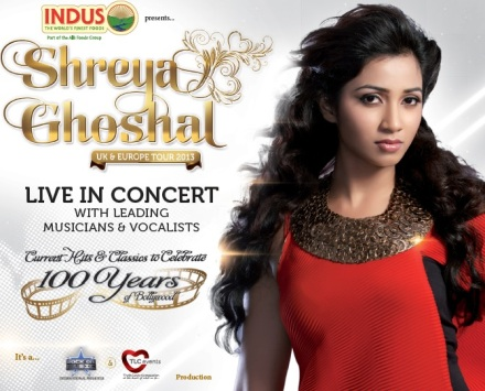 Shreya Ghoshal - UK concert 2013