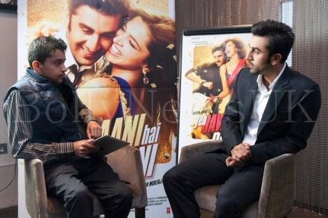 Ranbir Kapoor in London - Yeh Jawaani Hai Deewani