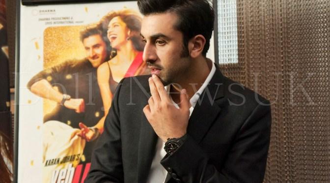 Spotted: Ranbir Kapoor promotes 'Yeh Jawaani Hai Deewani' in London