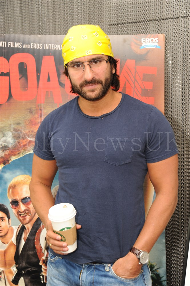 Saif Ali Khan in London - Go Goa Gone