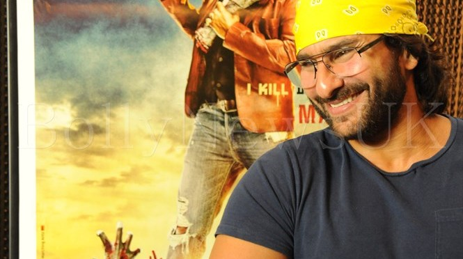 Spotted: Saif Ali Khan promotes 'Go Goa Gone' in London