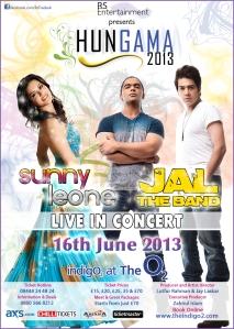 Sunny Leone - JAL - UK concert