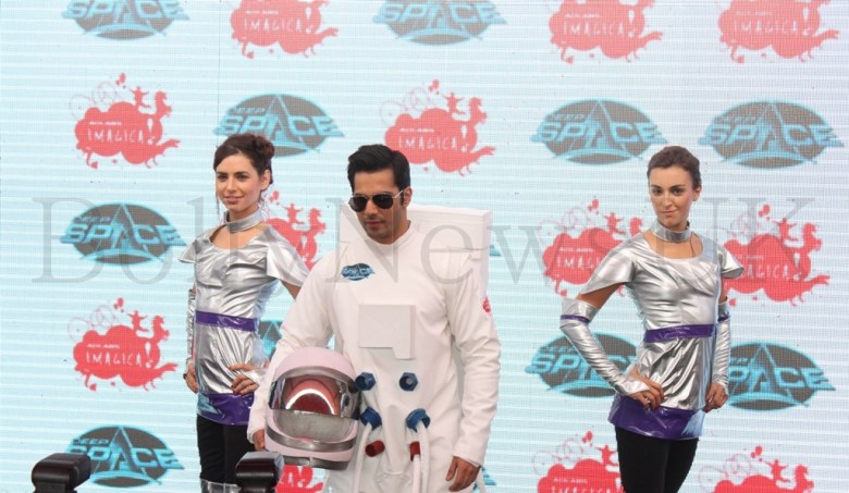 Varun Dhawan at the launch of Deep Space at Adlabs Imagica