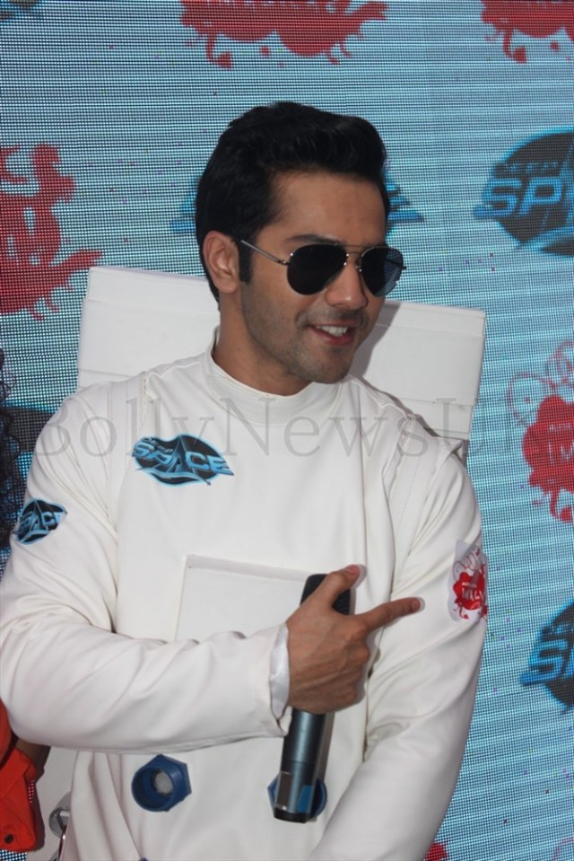 Varun Dhawan launching Deep Space