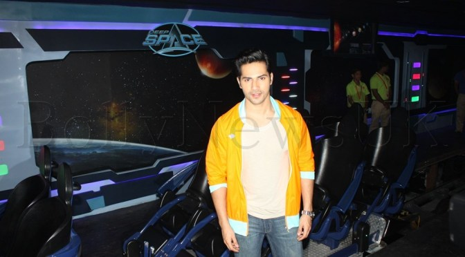 Spotted: Varun Dhawan at Deep Space Launch