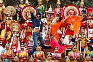 Chennai Express - Deepika and SRK