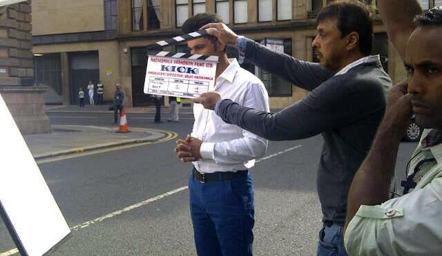'Kick' starts filming in Glasgow