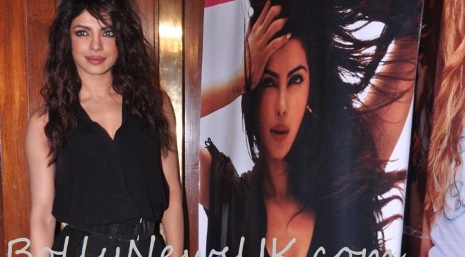 Spotted: Priyanka Chopra at 'Exotic' Launch