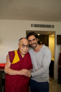 Arjun and Dalai Lama