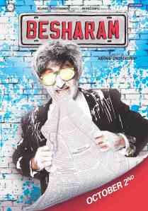 Besharam  UK Release