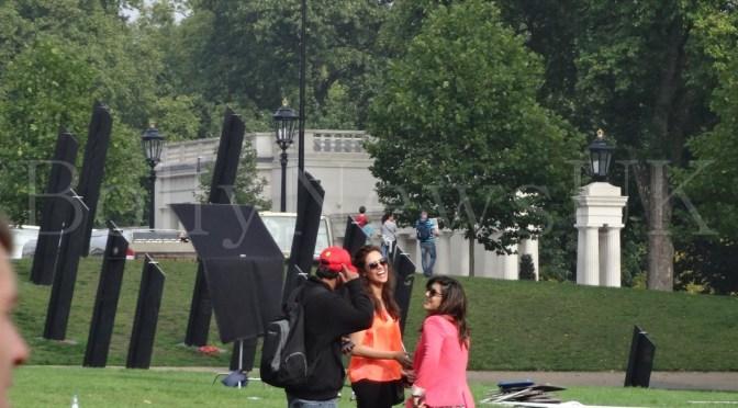 Spotted: Esha Gupta at Hyde Park Corner, London