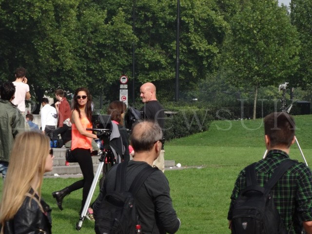Bipasha Basu in London, Humshakals, Hyde Park Corner (2)