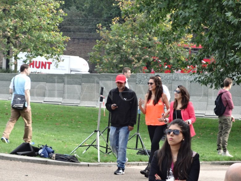 Bipasha Basu in London, Humshakals, Hyde Park Corner (3)