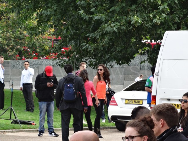 Bipasha Basu in London, Humshakals, Hyde Park Corner (4)