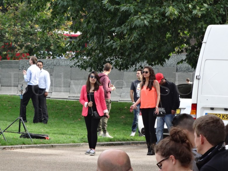 Bipasha Basu in London, Humshakals, Hyde Park Corner (5)