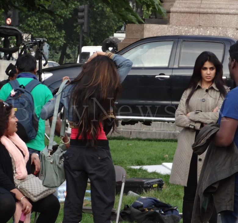 Genelia D'Souza in London - Humshakals (2)
