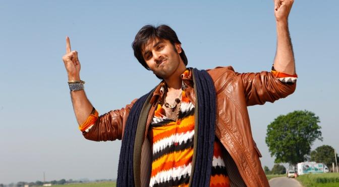 Ranbir Kapoor goes the Bhangra way in 'Besharam'