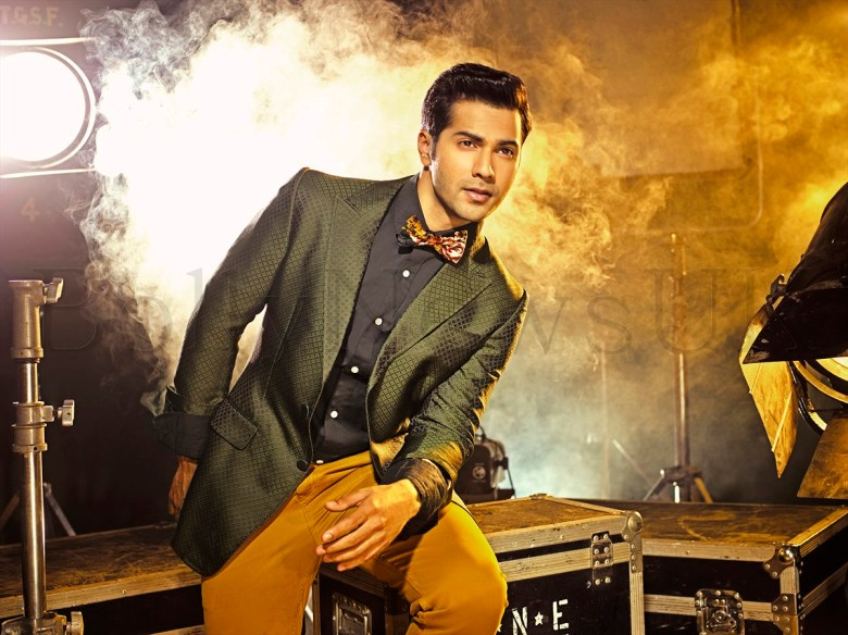 Varun Dhawan - The Man Cover Shoot (7)