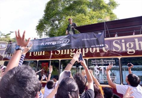 Hrithik Roshan promoting Krrish 3 in Singapore (9)
