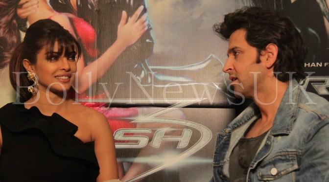 Photos: Priyanka Chopra and Hrithik Roshan promote 'Krrish 3' in London